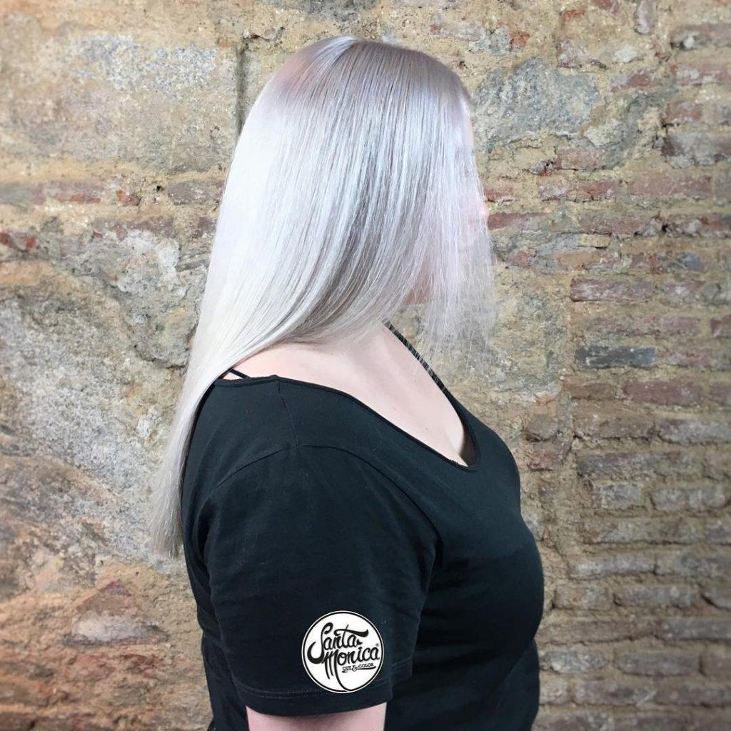 Amazing Silver Hair Color Specialists in Madrid Spain